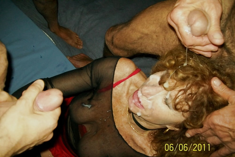 housewife Bbc outdoor bukkake