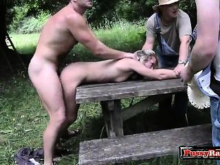 bdsm housewife Busty outdoor