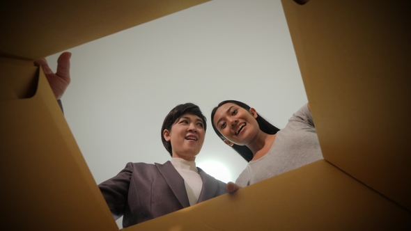POV Asian watching couple