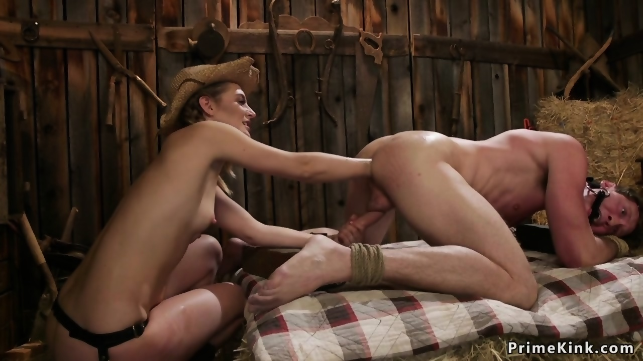 Autumn recommends Otngagged beauty redhead wife