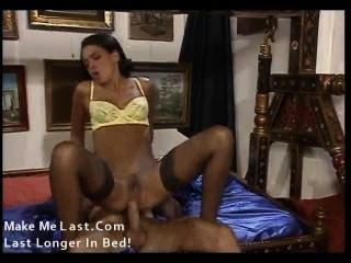 Anal glamour orgy solo