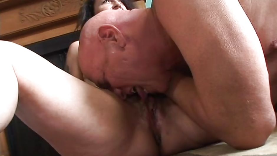 Grannies pussy lciking party torture
