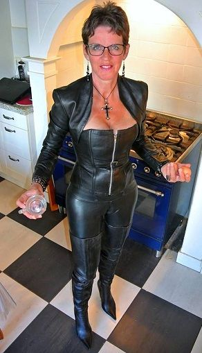 pegging grannies Latex stepbrother
