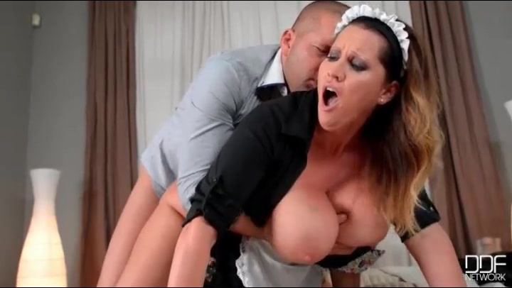big cock maid Sexy doggystyle