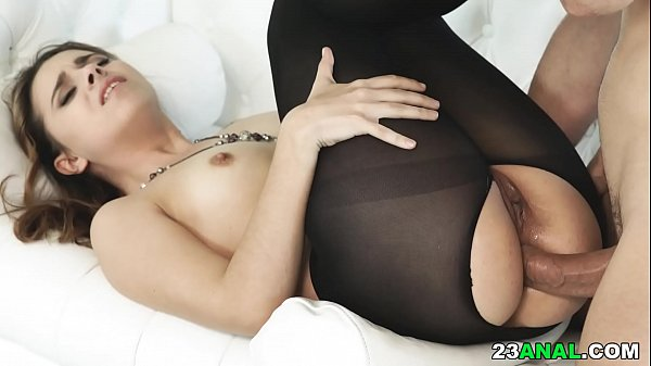 Monster cock classic woman pantyhose