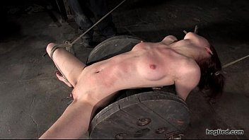 otngagged squirting gay Brunette