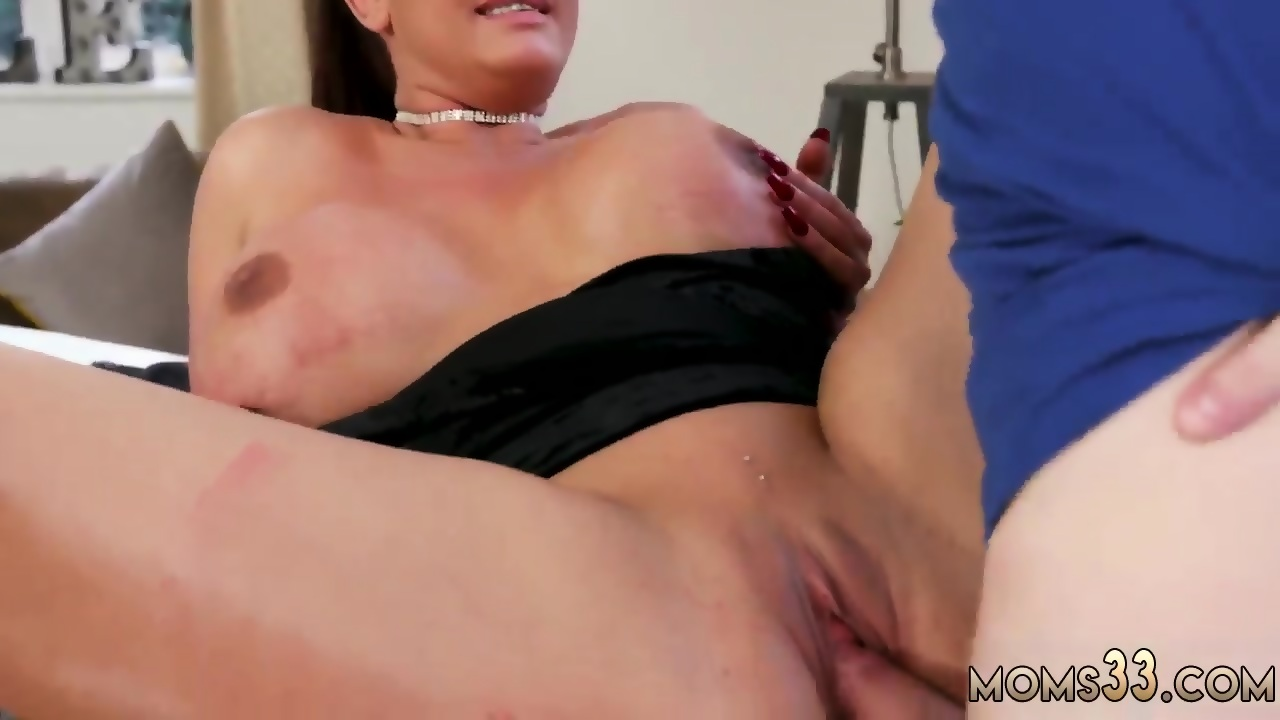 time Mom double sexy first blowjob