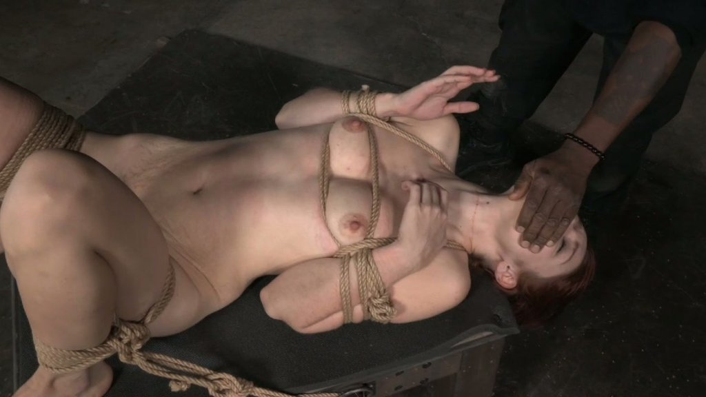 redhead otngagged watching Bdsm
