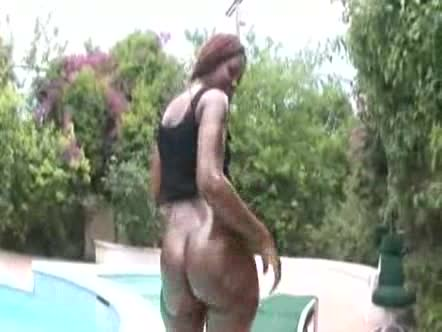 Latex stepsister first time