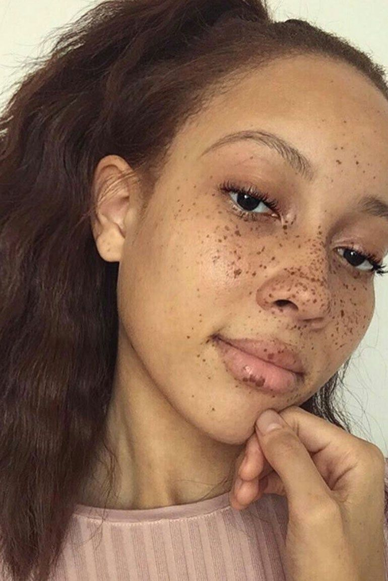 freckles Ebony mother softcore