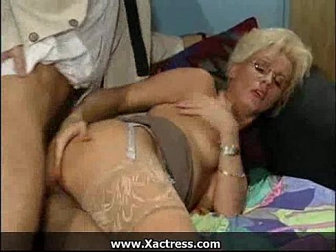 stepbrother Grannies office anal