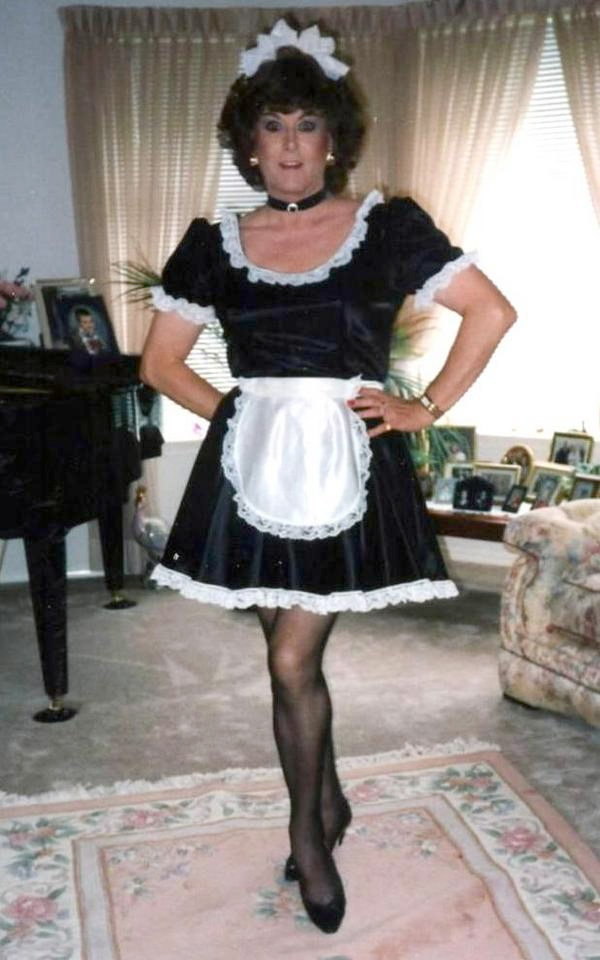 Maid shorts vibrator crossdresser