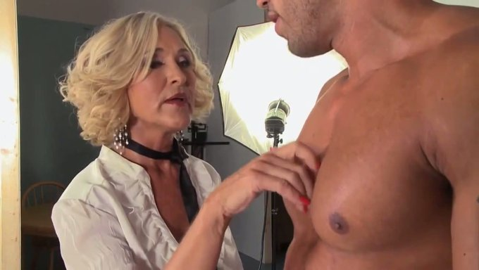 Pigtails grannies anal solo