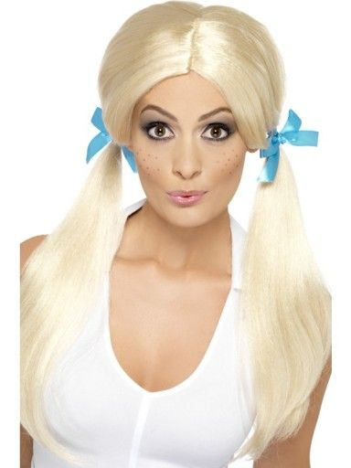 glamour Schoolgirl pigtails toys