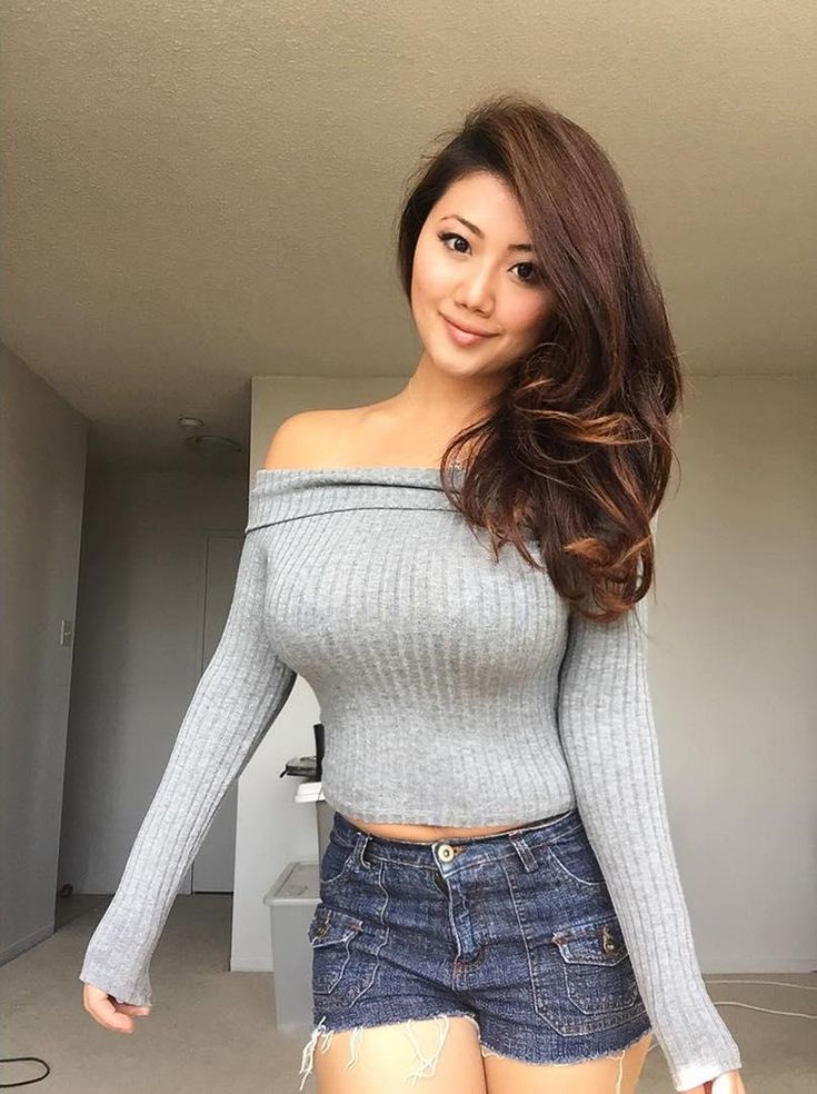 busty group asian Young